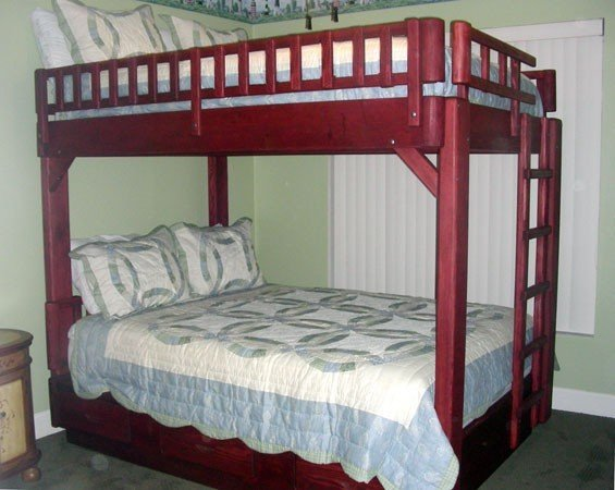 king size bunk bed plans
