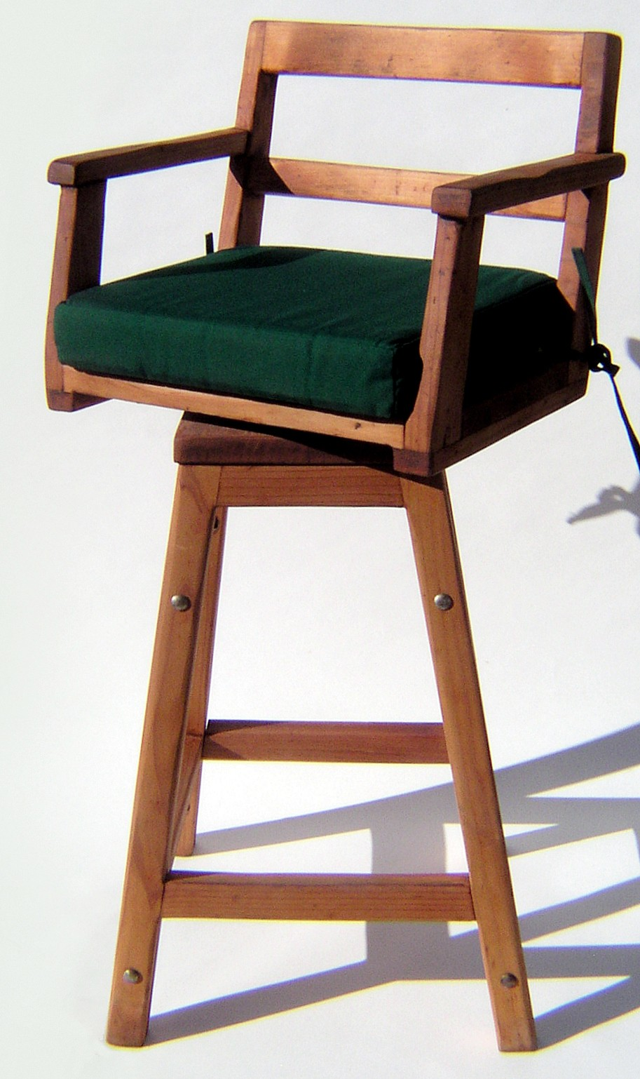 Captain S Chair Bar Stool Wooden Stools Forever Redwood