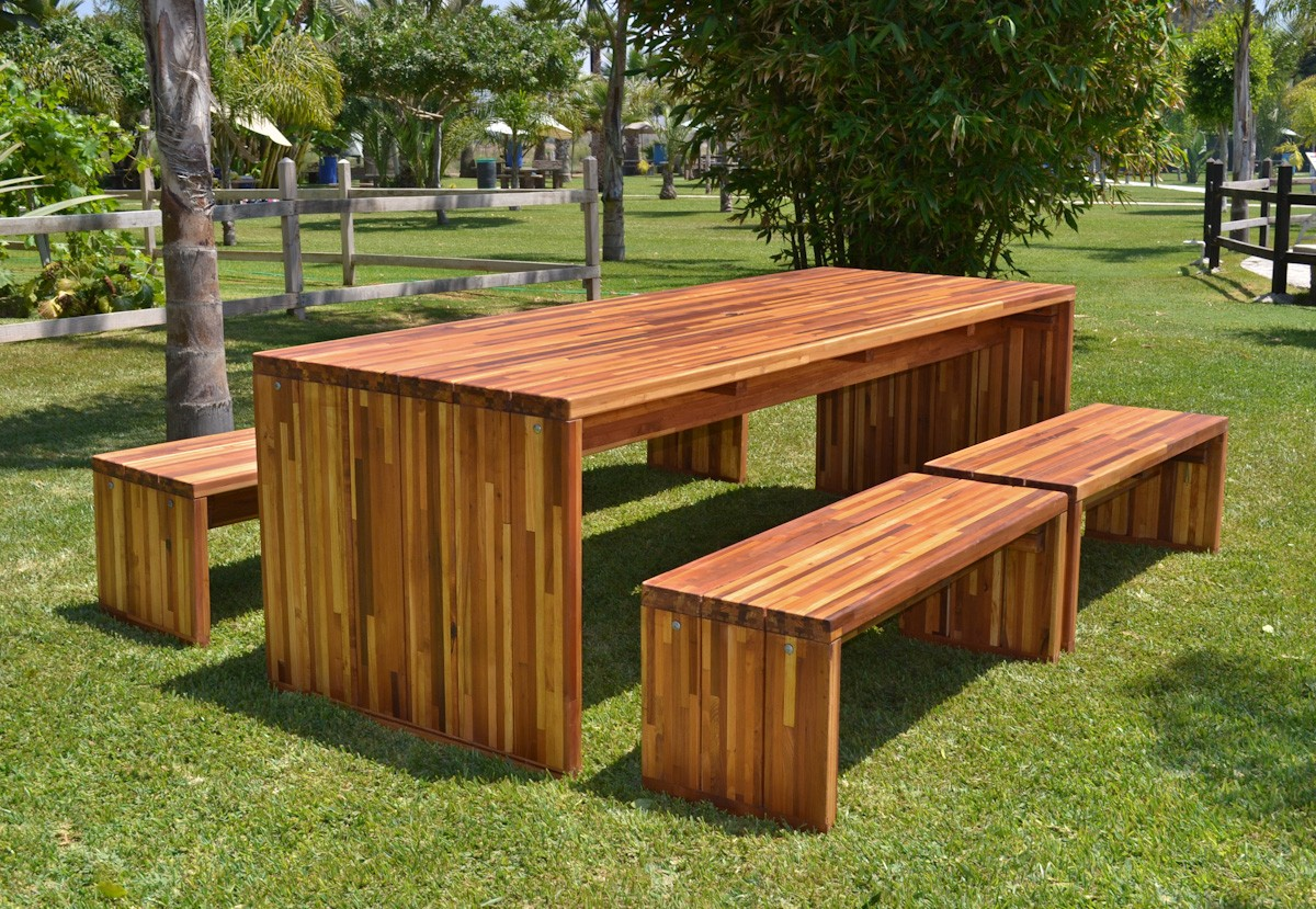 Maynard Wood Tables Built To Last Decades Forever Redwood