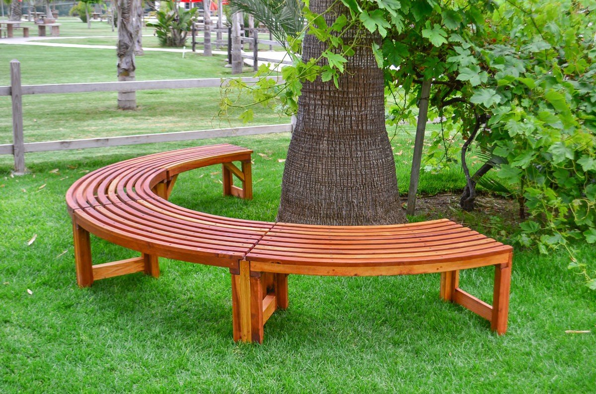 The Miramar Tree Benches Built To Last Decades Forever Redwood