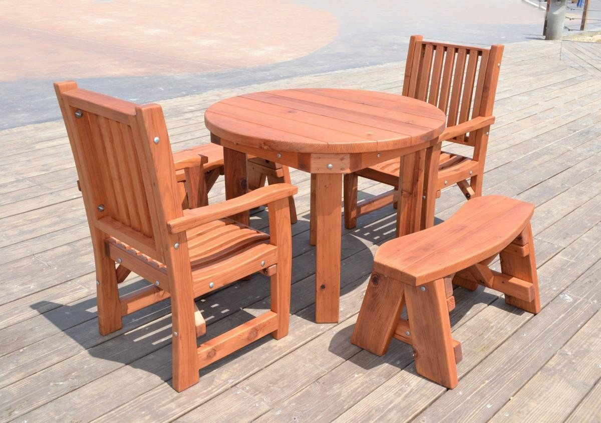 redwood patio furniture plans download wood plans