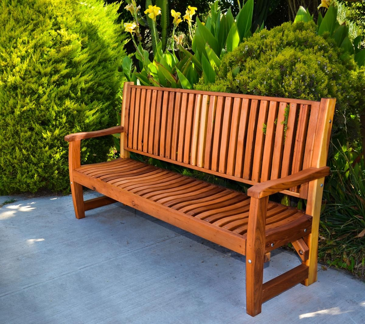 Redwood Deck Bench Plans Woodideas