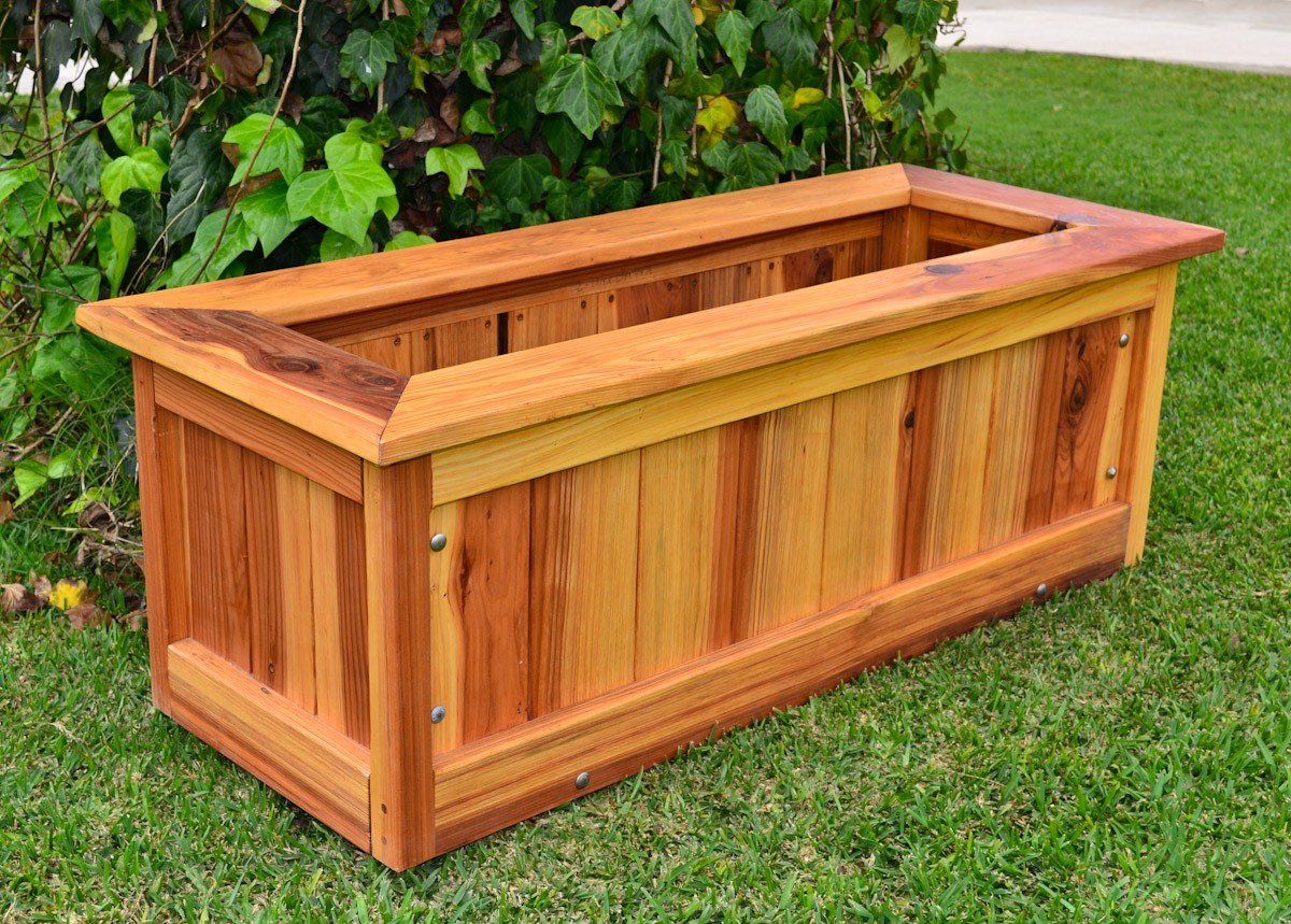 Forever Redwood Planters, Prefinished Plywood Houston ...