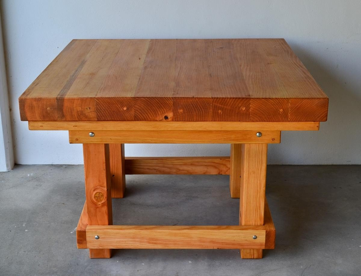 ... for building a heavy duty picnic table | Online Woodworking Plans