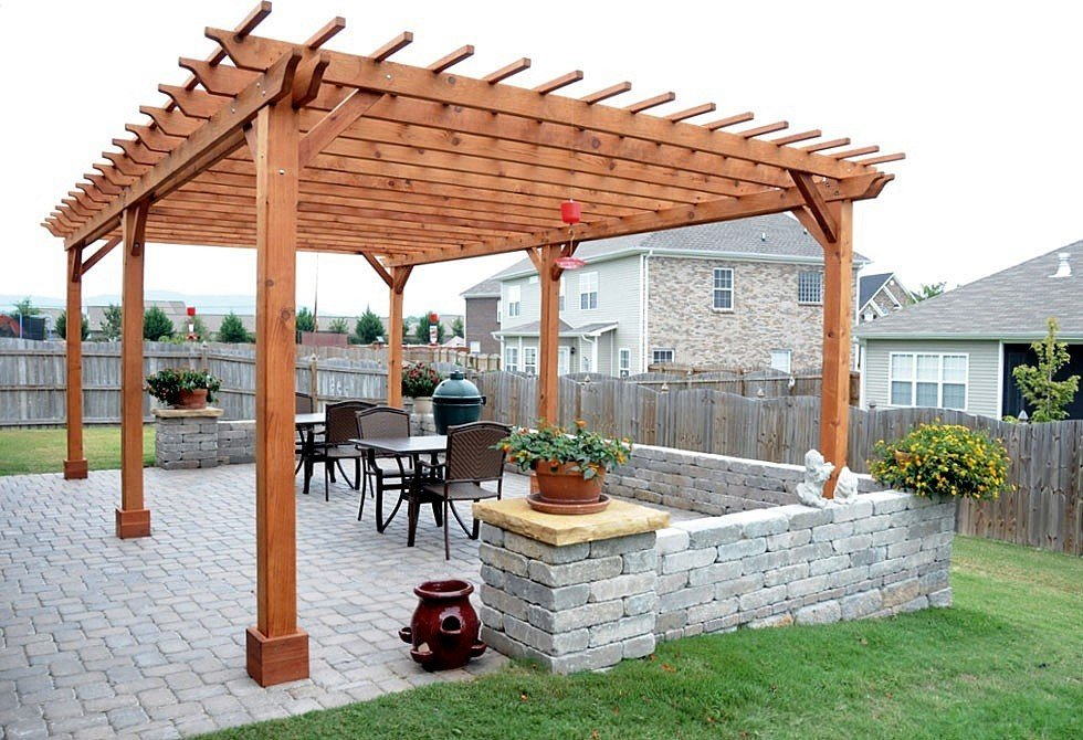 Pergola Plans Redwood Plans DIY Free Download Free Simple ...