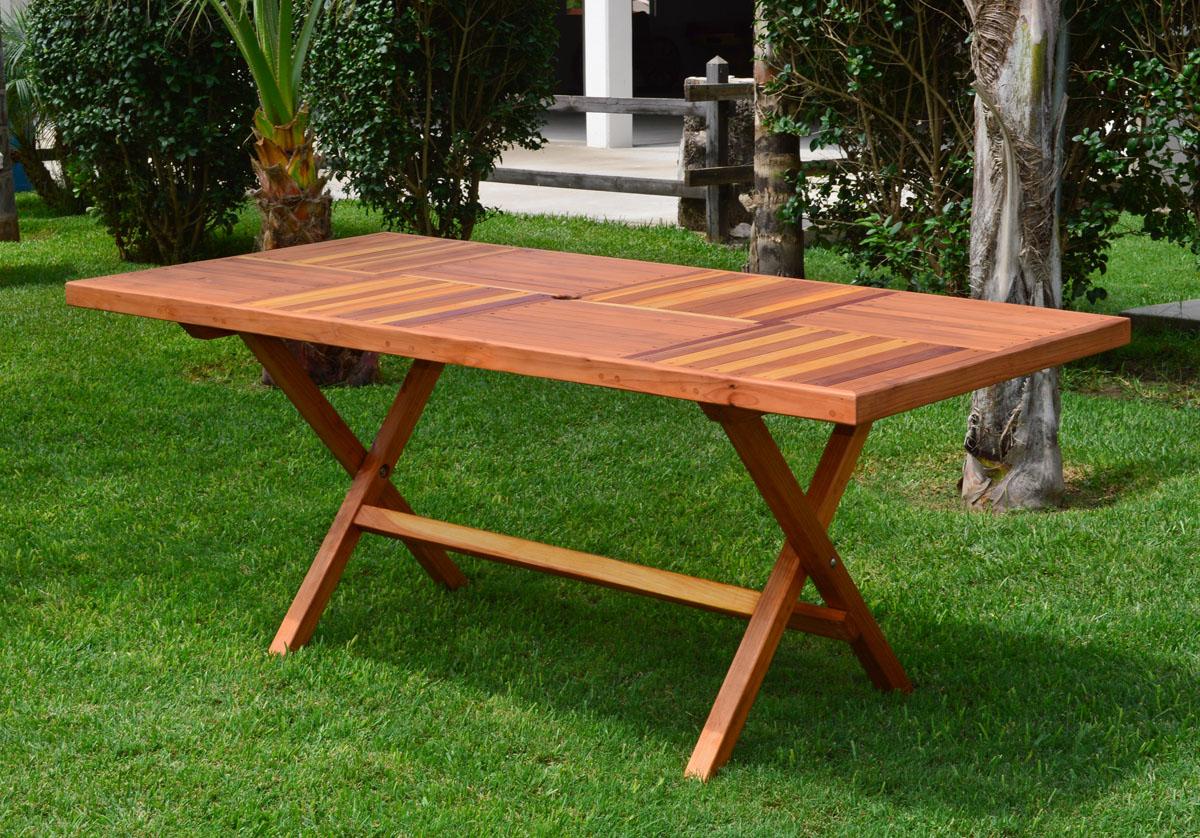 Outdoor Rectangular Folding Table Custom Table Top Design