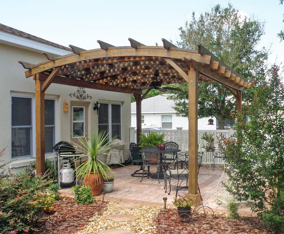 This Pergola has been out for 30 months in the Florida weather.