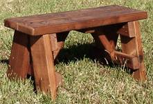 2.5-Foot Picnic Bench
