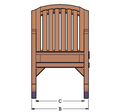 rocker style - Wood Rocking Chair