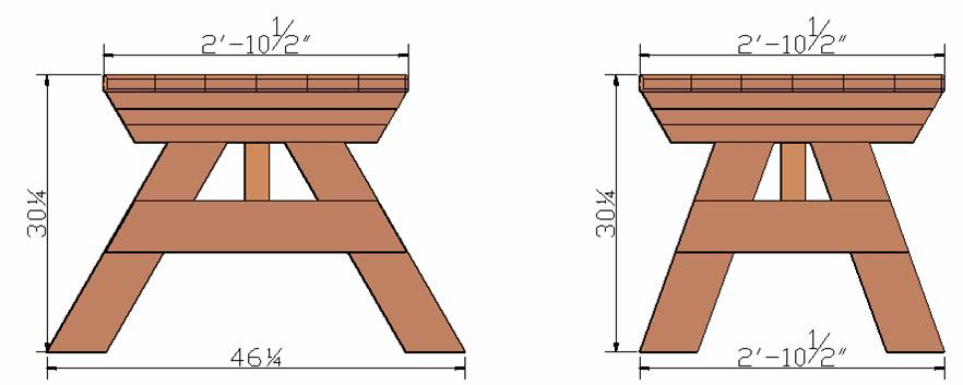 Standard picnic table measurements image collections table watchthetrailerfo how long is a standard picnic table gallery table decoration ideas standard picnic table measurements image watchthetrailerfo