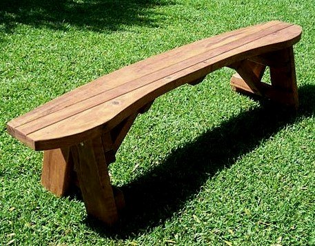 Round Picnic Bench (Default)