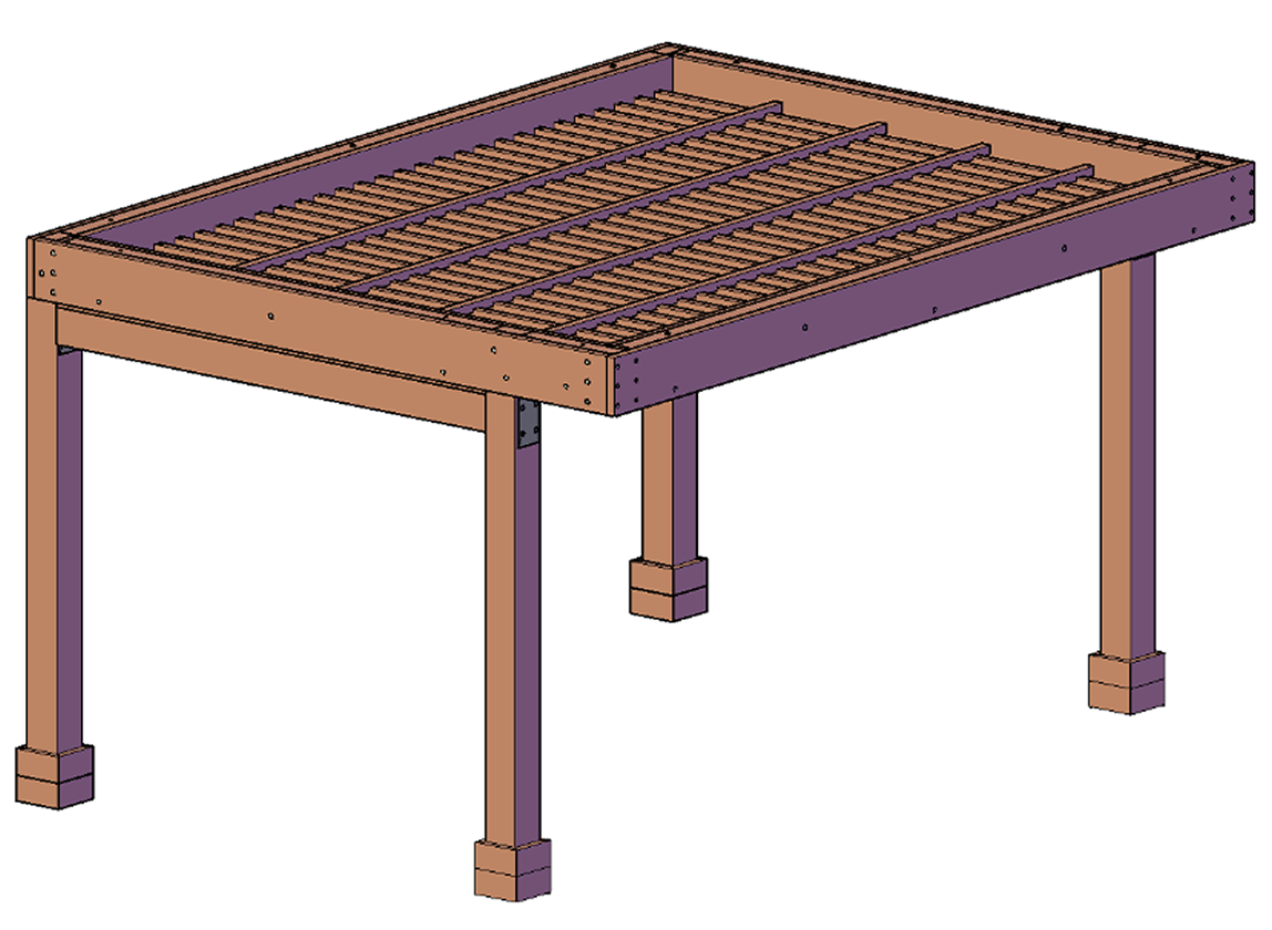 Cantilevered Roof Style