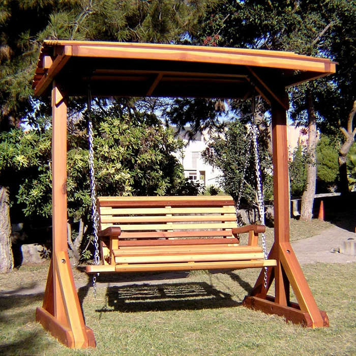 Swing Set With Roof ...